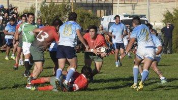 Chenque RC le ganó al Deportivo Portugués en una de las semifinales del torneo Preparación de rugby.