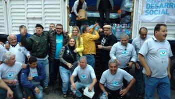 En Córdoba juntaron miles de donaciones para Comodoro Rivadavia. Una delegada del Sindicato de Petroleros Jerárquicos ayudó a impulsar el trabajo que realizó el Gobierno de esa provincia.