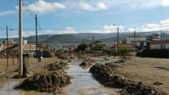 preocupa la escalada de delitos en los barrios mas afectados por el temporal