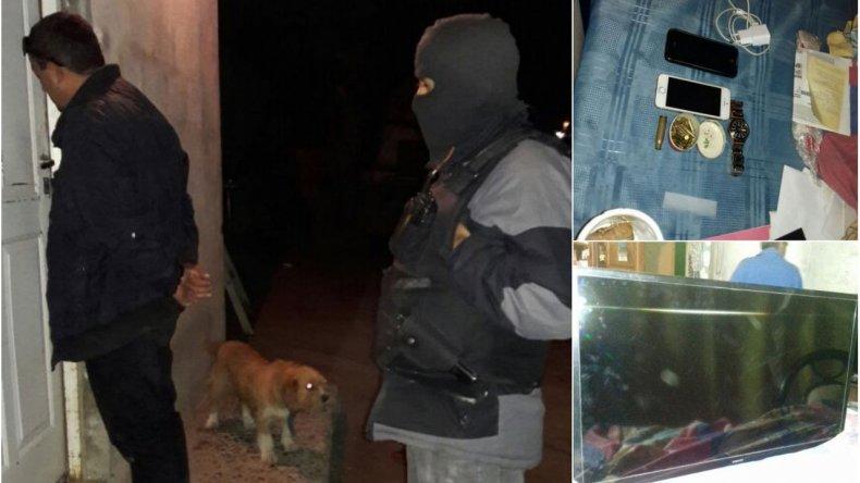 Tras un allanamiento, detuvieron a un asaltante que ató a una familia en el Ceferino