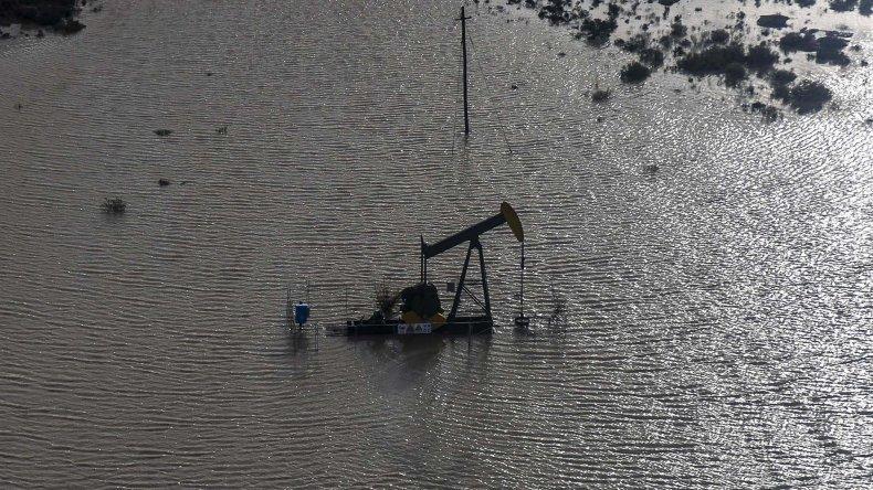 Por el temporal se perdieron U$S700 millones en la industria petrolera