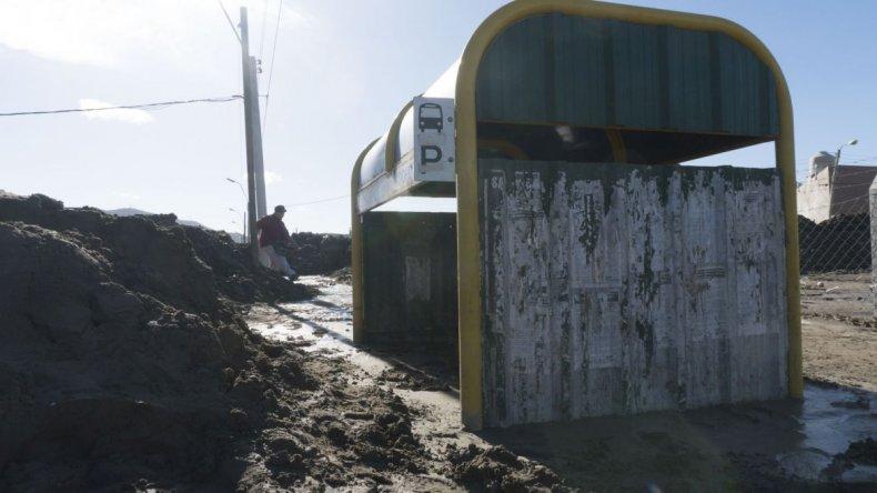 Así quedaron los barrios de Comodoro Rivadavia luego del temporal que azotó a la ciudad
