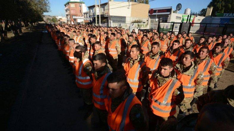Policía y Gendarmería intensifican su presencia en los barrios más afectados