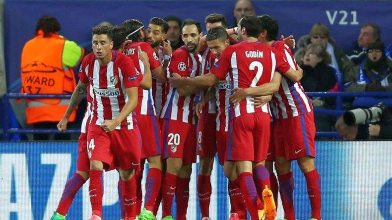 El Atlético clasificó a semifinales de la Champions League