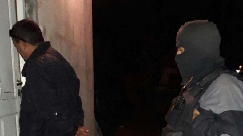 Pablo Rocha fue detenido por la Brigada de Investigaciones en una casa del barrio Ceferino Namuncurá.