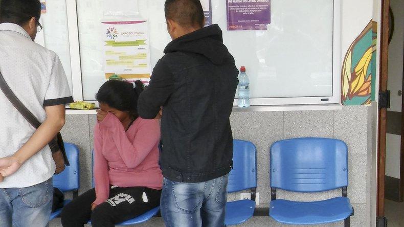 La madre de la niña acompaña desde hace dos meses su recuperación en el Hospital Regional.