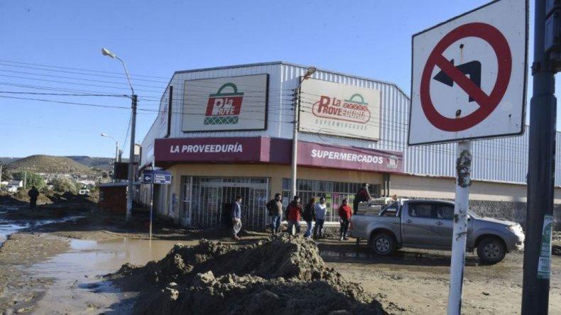 Un 85% de los comercios de zona norte vieron arruinada su mercadería