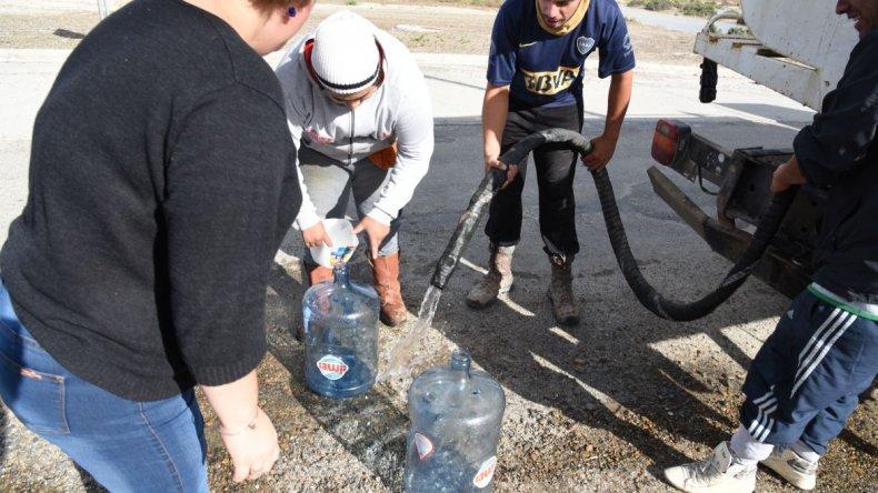 Quedó normalizado el servicio de agua en zona sur y centro