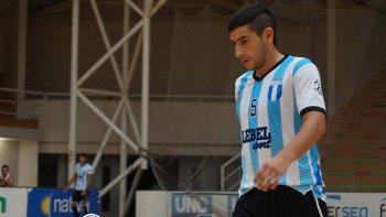 Matías Rima apunta a un nuevo horizonte y con grandes expectativas de jugar su segundo Mundial de futsal.