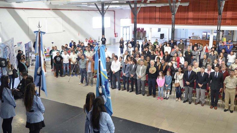 La inauguración oficial del VI Campeonato Panamericano De Pesca Submarina que fue suspendido por mal tiempo.