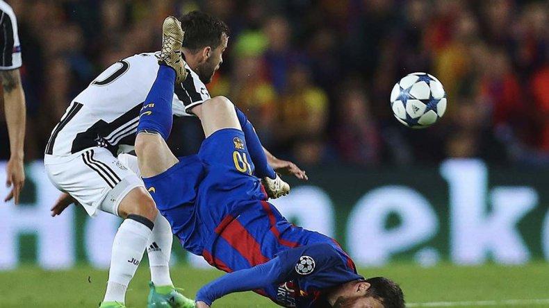La dura caída de Messi