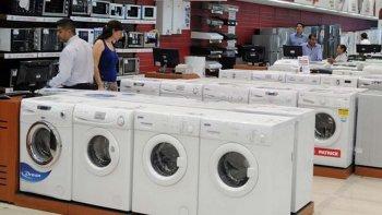 La oferta de productos electrodomésticos retrocedió hasta casi un 30%.