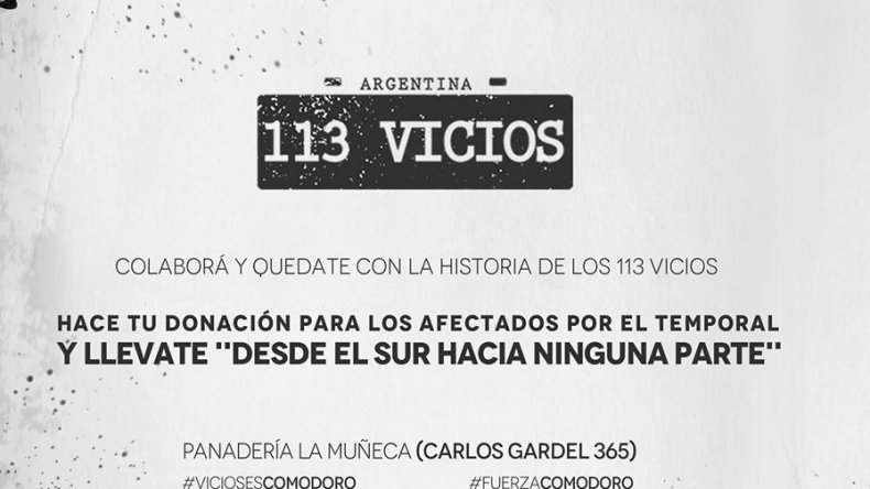 Entregan el documental de 113 Vicios por donaciones