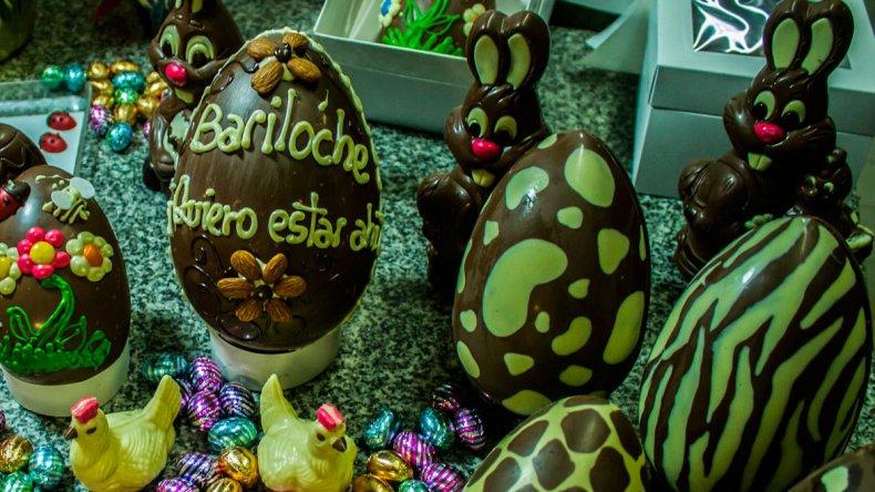 Todos los festejos giraron alrededor del chocolate