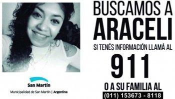 Araceli es buscada en todo el mundo.