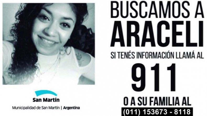 Araceli es buscada ahora en todo el mundo.