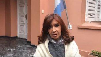 cristina en un video detallo el ataque a la residencia de la gobernacion