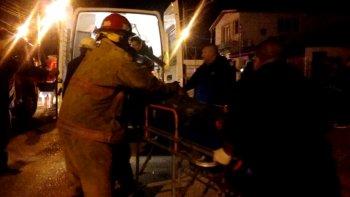 incendio en una vivienda dejo a padre e hijo internados por principio de asfixia