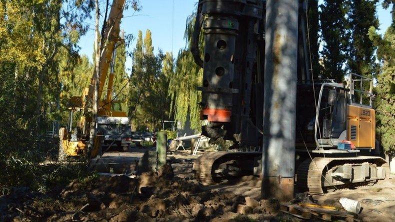 CORFO perforó pozos y abastece de agua a empresas del Parque Industrial Trelew