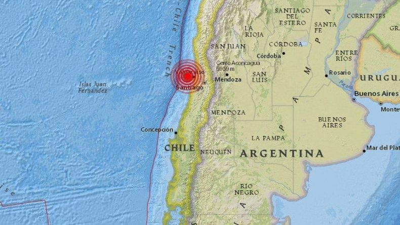 Sismo en Chile se sintió en Mendoza, Córdoba y San Juan