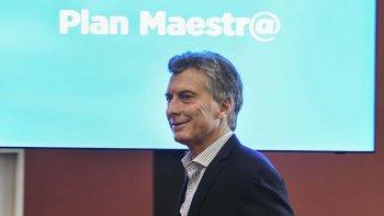Macri presentó una plataforma virtual para registrar aportes ciudadanos sobre la educación.