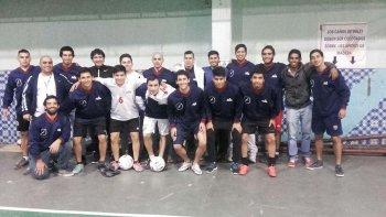 El equipo de fútbol once de la Universidad Nacional de la Patagonia San Juan Bosco.