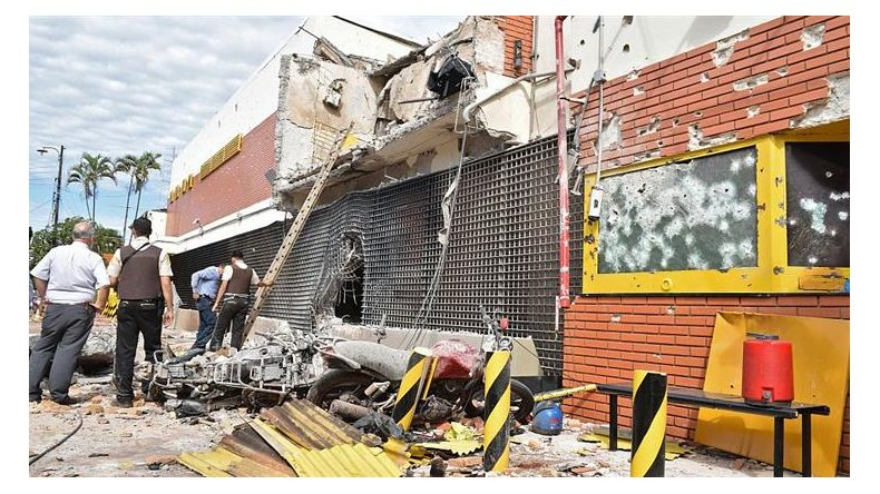 Avanza la investigación por el asalto comando a una sede de Prosegur en Paraguay.