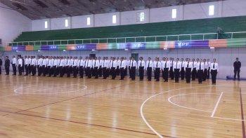 Según el jefe de Policía, los 80 aspirantes una vez que egresen serán destinados en su totalidad a la Unidad Regional de Comodoro Rivadavia.