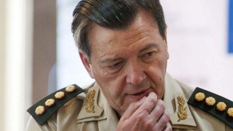César Milani fue detenido en La Rioja el 17 de febrero último.