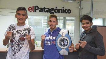 Mauro La Torre Cifuentes, Enzo Rebelde Romero y Carlos El Duro Ramos, la sangre nueva del kickboxing que se consolida.