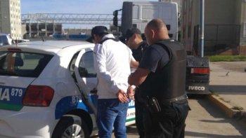 Rubén Currillán fue detenido ayer en los alrededores de la Plaza de las Naciones, en la zona céntrica.