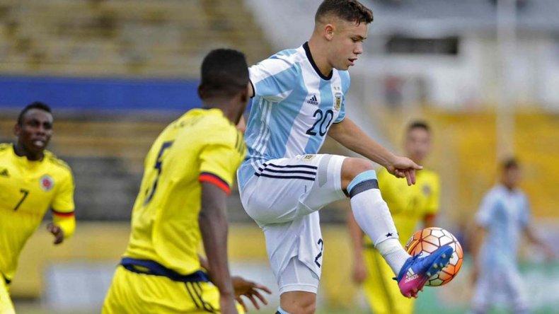 Tomás Conechny, el delantero comodorense de San Lorenzo que jugará el Mundial Sub 20 que se disputará en Corea del Sur.
