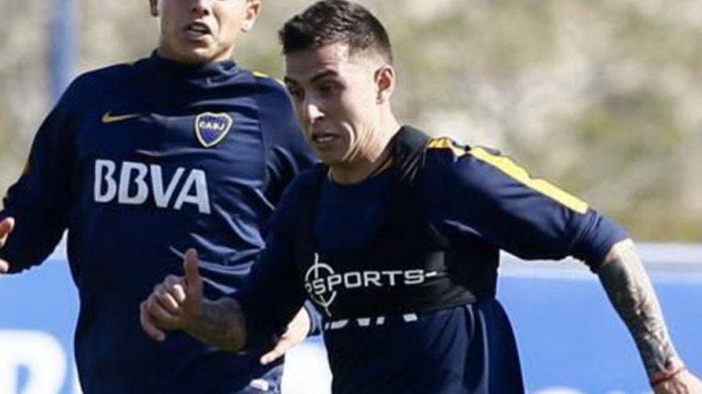 Nazareno Solís se perfila como titular para el partido que Boca jugará el domingo en La Bombonera frente a Arsenal.