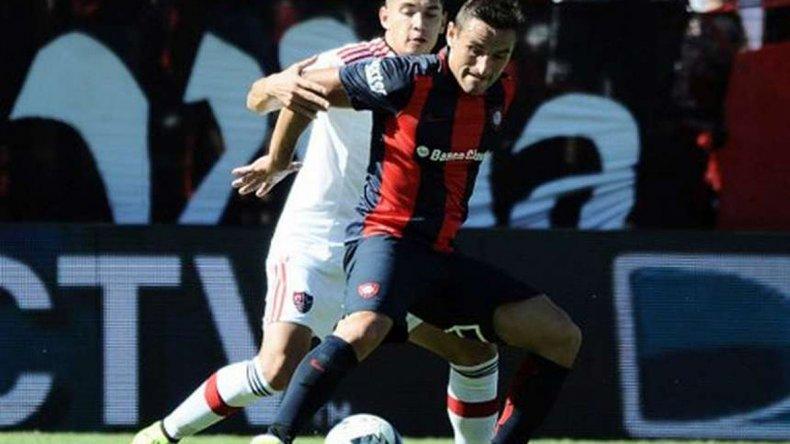 Gonzalo Bergessio será esta tarde titular en la formación de San Lorenzo.