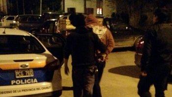 El operativo donde se produjo la detención del vendedor de drogas.