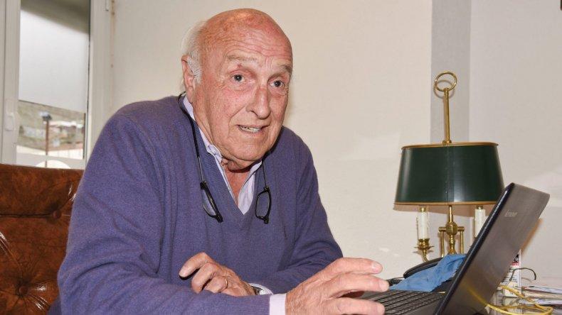Guillermo Iglesias Gorostegui, el dirigente que cumplió cinco décadas junto al automovilismo.