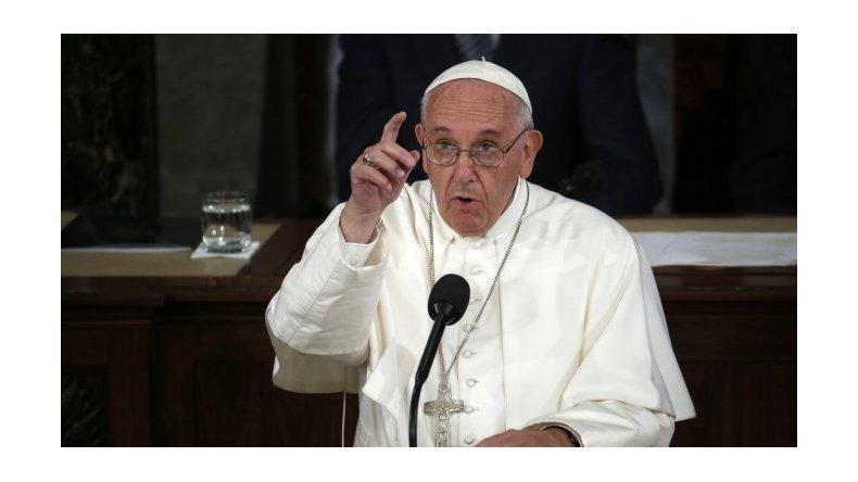 El fuerte pedido de Francisco por la paz en Venezuela