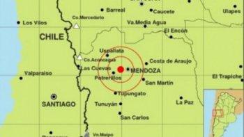 sismo afecto a la provincia de mendoza