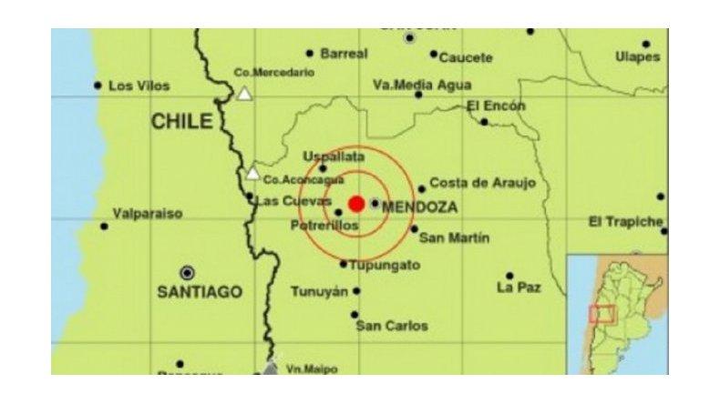 Sismo afectó a la provincia de Mendoza
