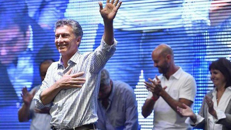 El presidente Mauricio Macri partcipó del acto del Día del Trabajador organizado por Momo Venegas.