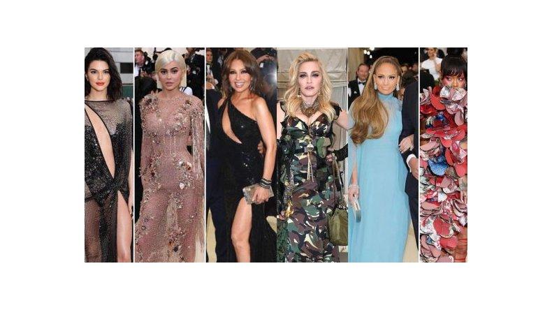 Los looks más sexies y extravagantes de la Met Gala 2017