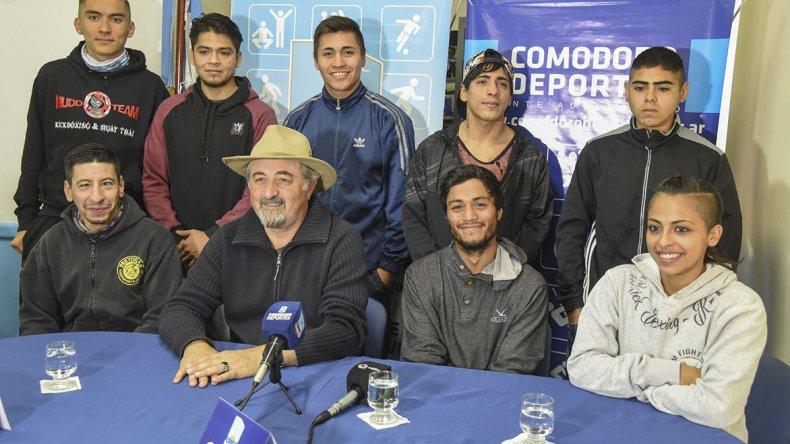 El Padre de los Eventos fue presentado ayer en el municipal 1 con presencia de parte de los protagonistas.