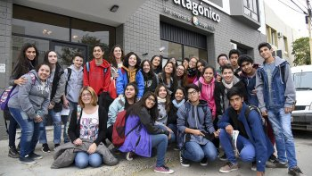 Estudiantes del CUP  visitaron El Patagónico