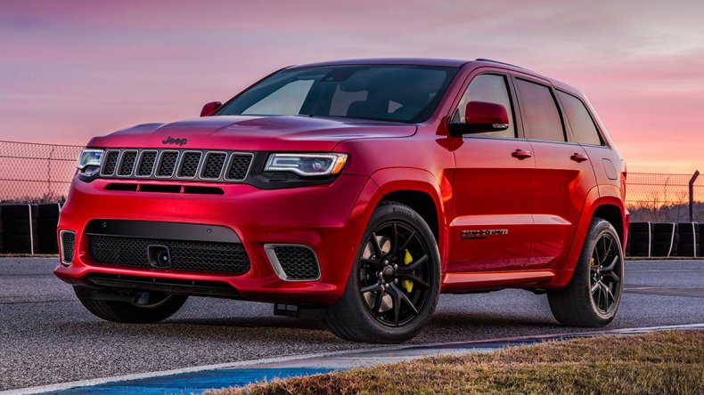 Un Jeep Grand Cherokee con más de 700 caballos