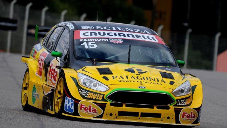 El Ford Focus de Luciano Farroni que espera este fin de semana ser protagonista cuando se corra la tercera fecha del Súper TC2000.