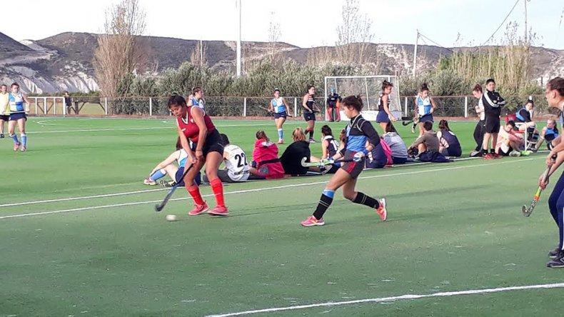 El torneo de hóckey solidario se disputó el último domingo en Comodoro RC.