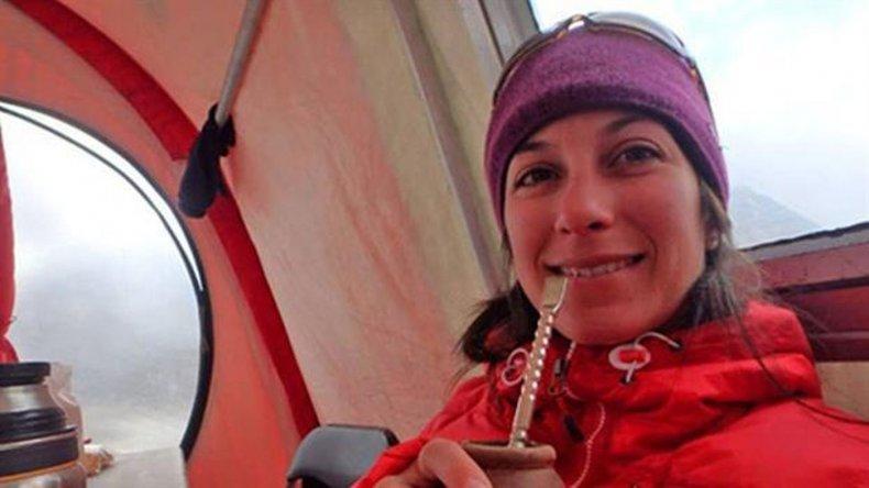 Rescataron a la montañista argentina en Canadá