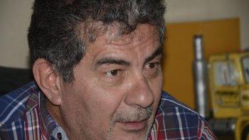 Jorge Taboada, secretario general de Camioneros Chubut.