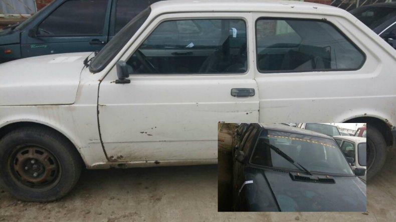 Dos autos robados fueron secuestrados en controles