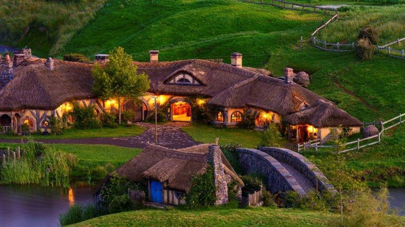 El set de filmación de El Señor de los Anillos se convirtió en un atractivo turístico en Nueva Zelanda.